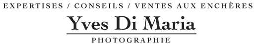 Yves Di Maria est expert en photographies de collections à Paris